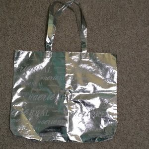 Arie Silver Bag/tote
